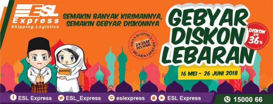Gebyar Diskon Lebaran dari ESL Express