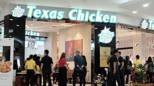 Texas Chicken Dengan Konsep Baru Hadir di Jakarta