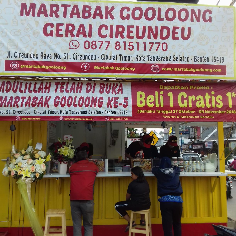 Martabak Gooloong Resmikan Gerai ke-5 dan Launching Gooloong JUICE di Cireundeu - Tangsel